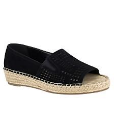 Bella Vita Cora Peep-Toe Espadrille Sandals
