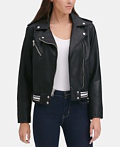 7ef6be0e790ff Faux Leather Juniors Jackets - Macy s
