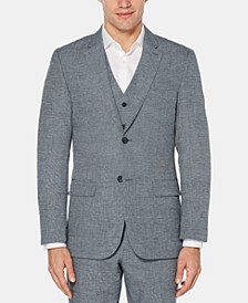 Men's Slim-Fit End-On-End Suit Jacket