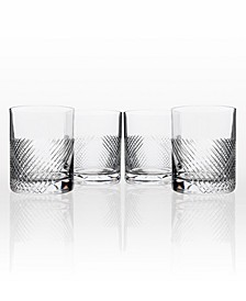 Bourbon Street Double Old-Fashioned Glass 14.75Oz - Set Of 4