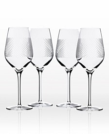 Bourbon Street White Wine 14.75Oz - Set Of 4