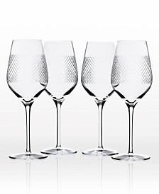 Rolf Glass Bourbon Street White Wine 14.75Oz - Set Of 4