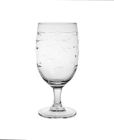 School Of Fish Iced Tea 16Oz - Set Of 4 Glasses