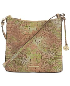 Brahmin Katie Atlas Melbourne Embossed Leather Crossbody