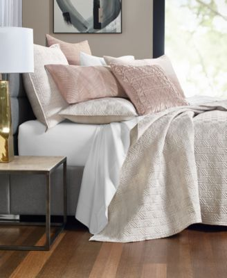 Woodrose 300-Thread Count Full/Queen Coverlet, Created for Macy's