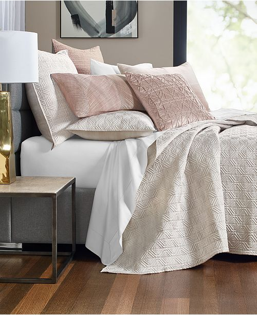 Hotel Collection Woodrose Coverlet Collection, Created for Macy's