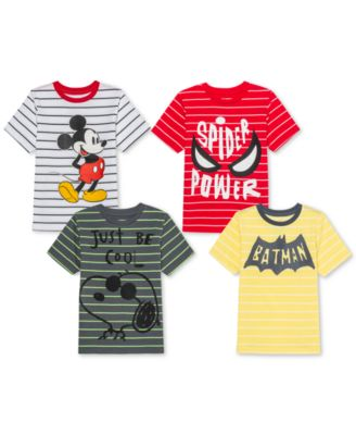 Toddler Boys Snoopy Stripe T-Shirt