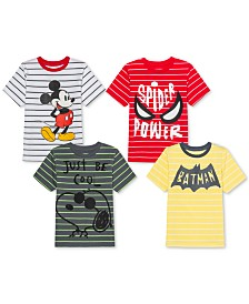 Jem Toddler & Little Boys Character-Print Striped T-Shirt Separates