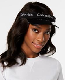 Calvin Klein Logo Plastic Brim Visor
