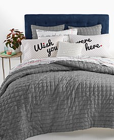 Seersucker 2-Pc. Twin/Twin XL Comforter Set, Created for Macy's