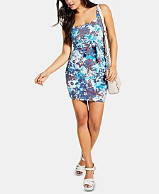 GUESS Millea Sleeveless Tie-Front Dress