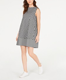 Marella Renier Printed A-Line Dress