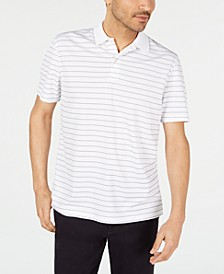 Men's Stripe Performance Polo, Created for Macy's