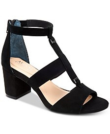 Alfani Elianaa Step 'N Flex Suede Dress Sandals, Created for Macy's