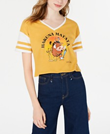 Disney Juniors' Lion King Sporty Graphic T-Shirt by Freeze 24-7
