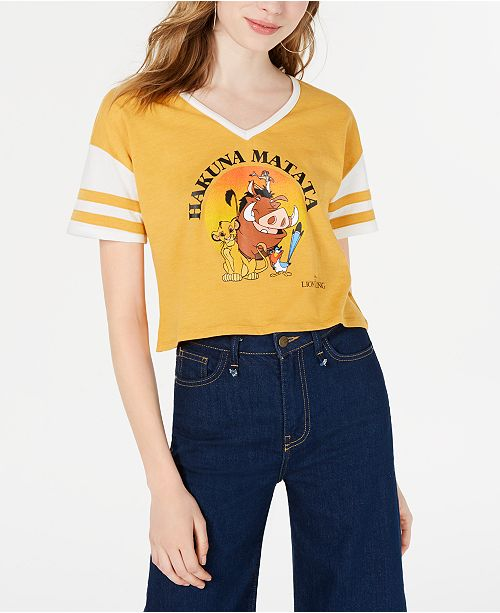 21b046abe ... 24-7; Disney Juniors' Lion King Sporty Graphic T-Shirt by Freeze ...