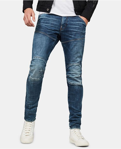 G Star Raw Men's Skinny Fit Jeans, Created for Macy's