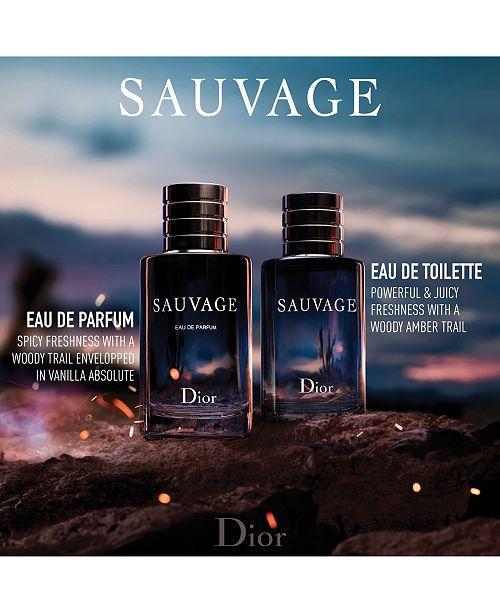 3317ba61 Dior Sauvage Eau de Toilette Fragrance Collection & Reviews - Shop ...