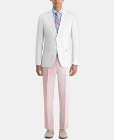Lauren Ralph Lauren Men's UltraFlex Classic-Fit White Linen Suit Separates