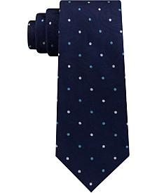 Michael Kors Men's Classic Tonal Paisley Multi-Dot Silk Tie