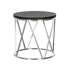 Emerald Round End Table
