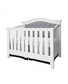 Magnolia 4-in-1 Convertible Upholstered Crib