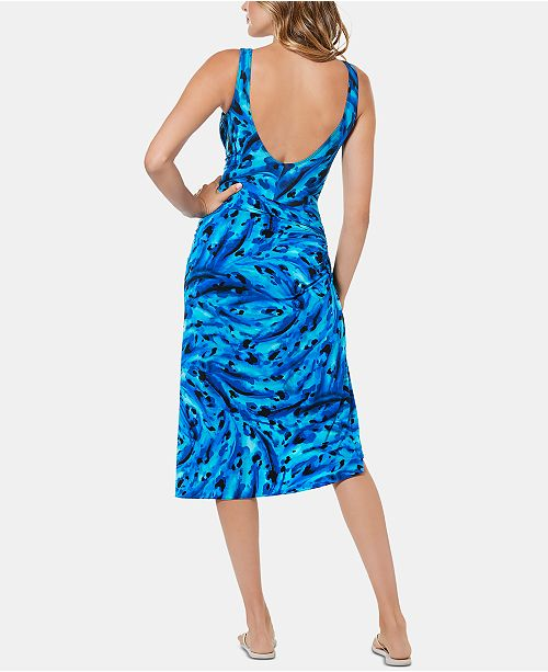 1179778e5a Miraclesuit Printed Sarong Skirt Swim Cover-Up & Reviews - Swimwear ...