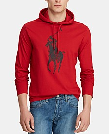 Men's Big Pony Jersey Hooded T-Shirt