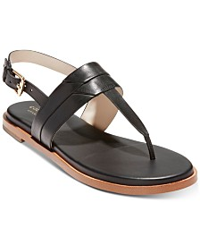 Cole Haan Ainslee Grand T-Strap Sandals