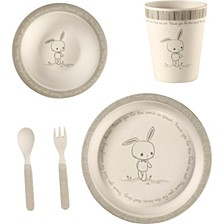 5-Piece Bunny Mealtime Gift Set
