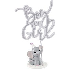 Elephant Gender Reveal Cake Topper/Figurine Resin/Acrylic 183404