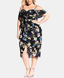 Trendy Plus Size Honeysuckle Dress