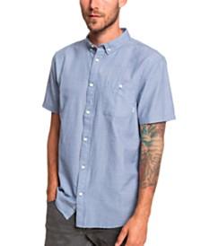 Quiksilver Men's Waterfalls  Short Sleeve Shirt