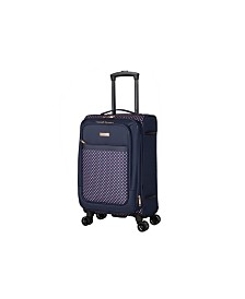 "Isaac Mizrahi Soho 20"" 8-Wheel Spinner Luggage"