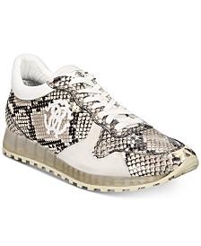 Roberto Cavalli Men's Snake Jogger Sneakers