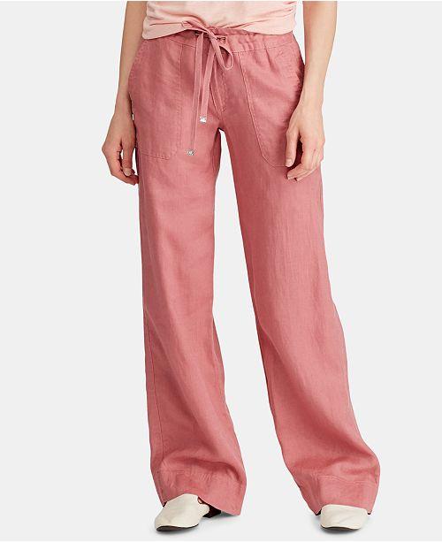 d2c300b6 Lauren Ralph Lauren Petite Linen Pants & Reviews - Pants & Capris ...