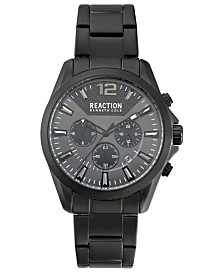 Kenneth Cole Reaction Men's Black Bracelet Watch 44mm