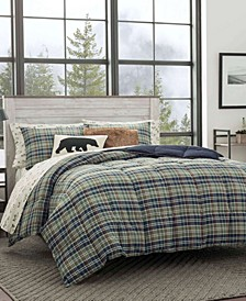 Rugged Plaid Multi Comforter Set, King