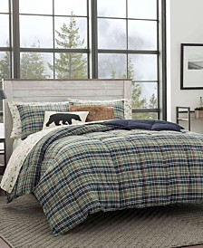 Eddie Bauer Rugged Plaid Multi Comforter Set, King