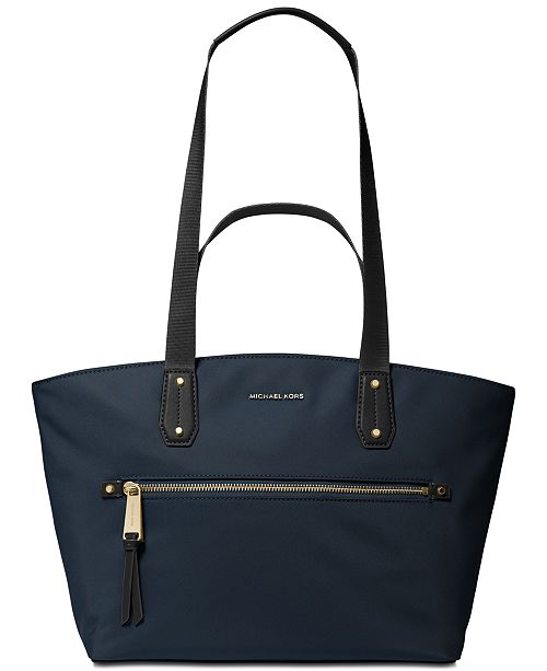 Michael Kors Top Zip Nylon Tote