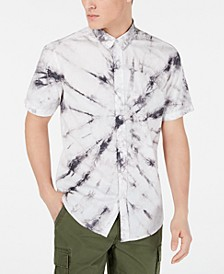 Men's Spiral Tie Dye Shirt, Created for Macy's