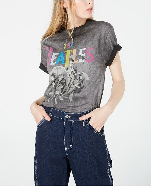 True Vintage Cotton The Beatles Graphic T-Shirt