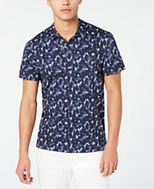 Lacoste Men's Abstract-Print Polo, Created for Macy's