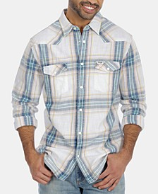 Men's Western Plaid Shirt