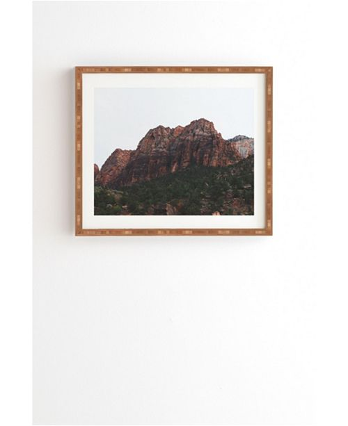 Deny Designs ZION Framed Wall Art