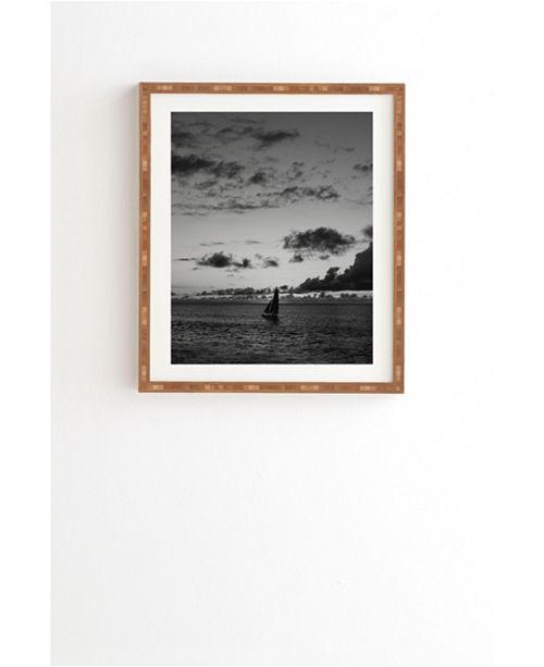 Deny Designs Oahu Sails Framed Wall Art