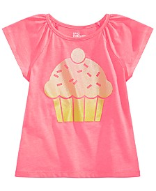 Epic Threads Little Girls Cupcake T-Shirt, Created for Macy's