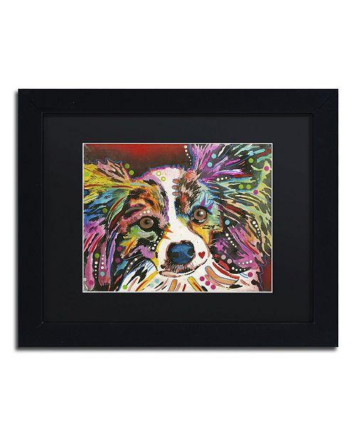"""Trademark Global Dean Russo 'Whazzat' Matted Framed Art - 11"""" x 14"""" x 0.5"""""""