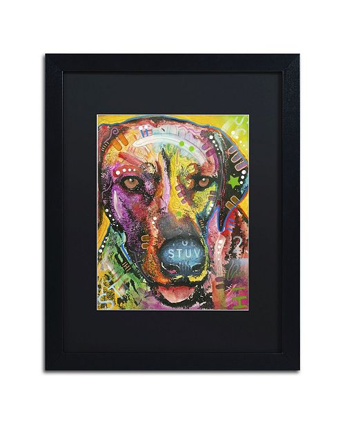 """Trademark Global Dean Russo 'Ready to go' Matted Framed Art - 16"""" x 20"""" x 0.5"""""""