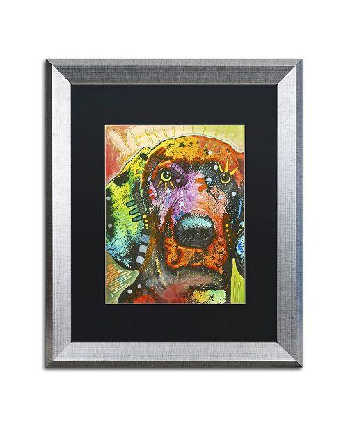 """Trademark Global Dean Russo '02' Matted Framed Art - 20"""" x 16"""" x 0.5"""""""